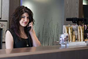 Salon Receptionist